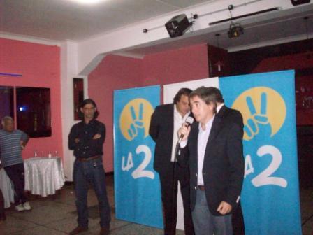 participaron el Ministro Martín Ferré y los diputados Guido Lorenzino y Martín Cosentino