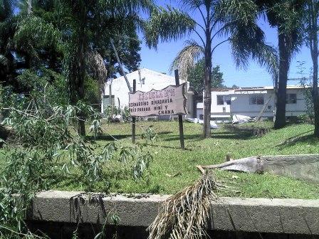 La Provincia se compromete a reacondicionar las escuelas del Delta dañadas por el temporal