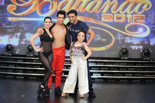 """Bravi y Moliniers se enfrentan a Piquín y Noelia en la final de """"Bailando 2012"""""""