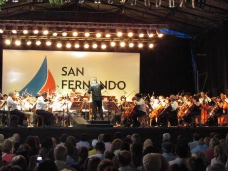 La Orquesta Sinfónica Nacional se lució en San Fernando ante 2000 vecinos