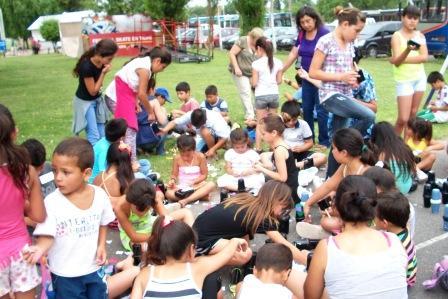 Más de 400 chicos apoyando las políticas de infancia en Tigre