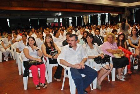 25 nuevas enfermeras recibidas del Hospital de San Fernando