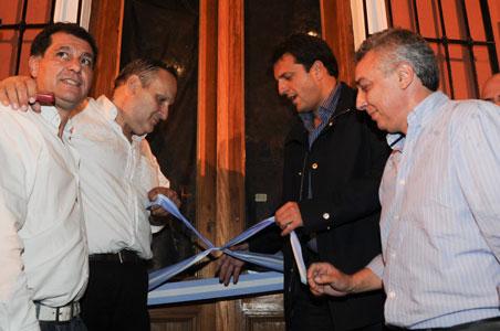 El Massismo inauguró un nuevo local partidario en Tigre