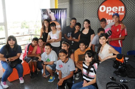 Los talleres de radio contra la violencia escolar hicieron pie en las escuelas de distintas localidades