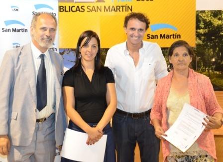 Katopodis entregó reconocimientos y subsidios a instituciones de San Martín