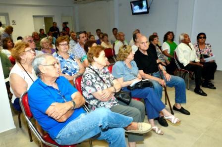 17 centros de jubilados recibieron la segunda parte del subsidio destinado al desarrollo de la tercera edad