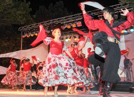 Pacheco vivió su 11 edición del Festival Folklórico Popular