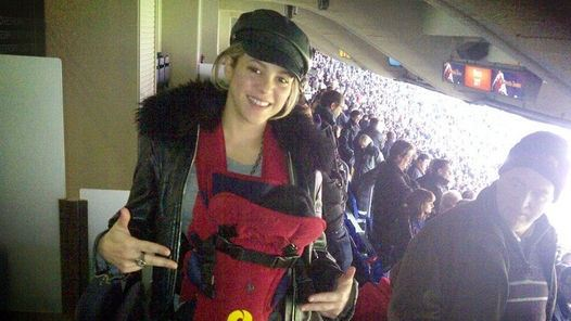 Shakira tuvo su primera salida junto a su hijo Milan