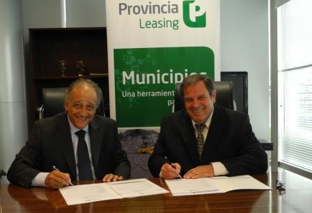 Provincia Leasing financió $5.5m a municipios de Buenos Aires
