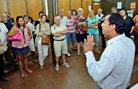 Reunión con transportistas escolares de San Fernando