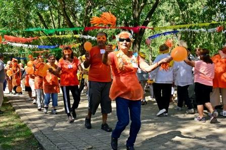 Los abuelos de San Fernando festejaron el cierre de su colonia de verano