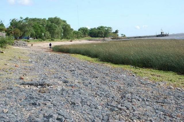 Realizan mejoras en un tramo del Paseo Costero de San Isidro