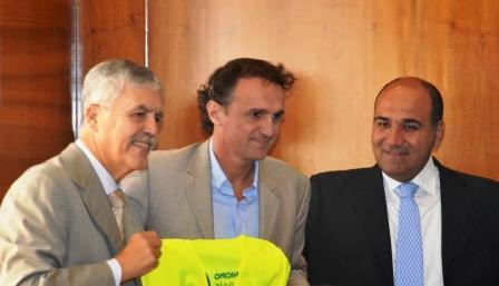 Katopodis y De Vido firmaron un convenio de obras públicas y pavimentación