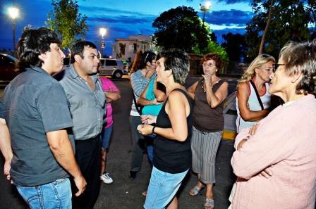 conflicto con la demolición del edificio donde funcionaba el Centro Cultural Villa del Carmen