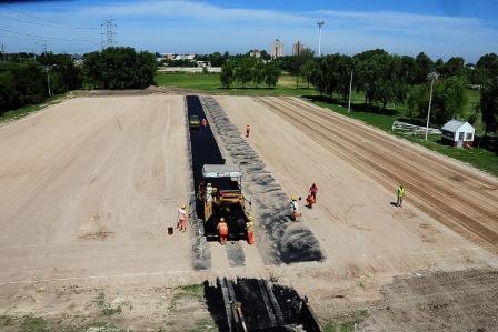 Se construye en Tigre un moderno estadio de hockey