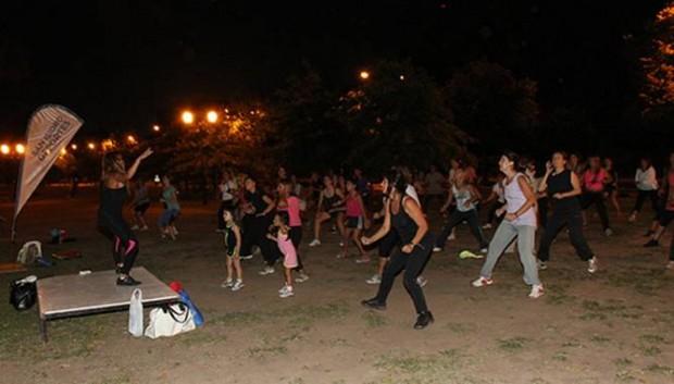 Gran concurrencia en el Paseo de Bicicletas Nocturno de San Isidro