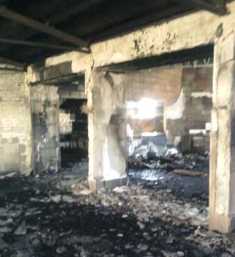 Incendio en la escuela Nro 5 San José de Calasanz de Virreyes
