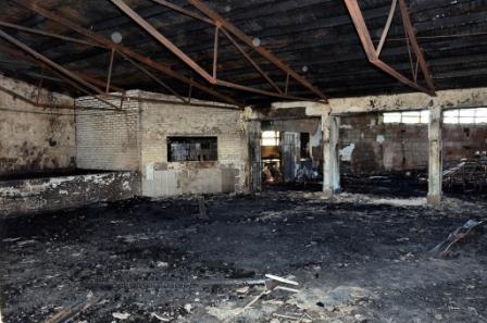Consejo Escolar y autoridades provinciales visitaron la Escuela Nº 5 de Virreyes que fue incendiada
