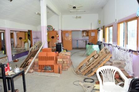 Comenzaron a refaccionar el Centro Cultural Manuel Belgrano