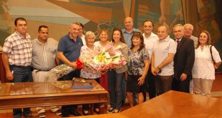 El HCD de Tigre homenajeó a la ex concejala Victoria Vassallo en el Día de la Mujer