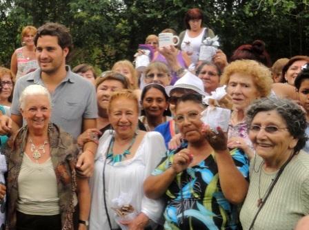 Cafiero conmemoró el Día de la Mujer junto a vecinas y militantes de San Isidro