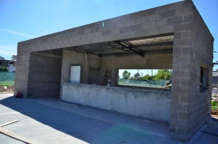 Avanza la construcción de la nueva Posta Policial Nº3 de Virreyes Oeste