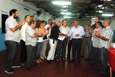 La Cámara de Comercio de Ricardo Rojas recibió su personería jurídica