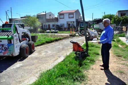 Plan de mejoramiento integral y limpieza en el barrio Hardoy