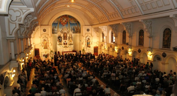 Novena edición del festival el Camino del Santo en San Isidro