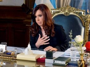 Ciclo de entrevistas de la Presidenta: Según Rial, que la reporte, dijo que