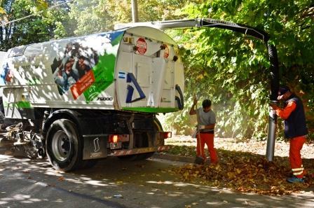 Nuevo vehículo municipal para la limpieza de San Fernando
