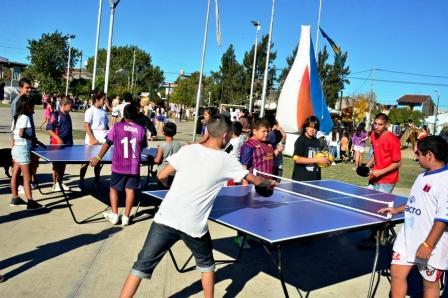 Primera jornada de Sentí tu barrio en la Plaza Malvinas Argentinas de San Fernando