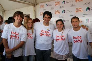 Se realizó en Vicente López la segunda edición de la Jornada Inclusiva y por la Integración Todos Iguales