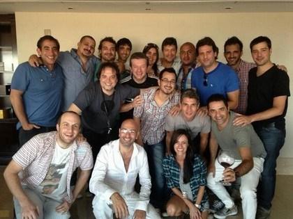 Marcelo Tinelli se reunió con humoristas y productores para dar forma a ShowMatch