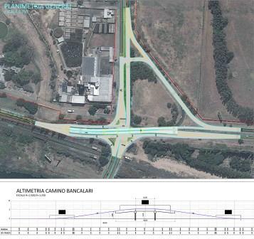 Se construirá un puente en el Camino Bancalari para cruzar la ruta 202
