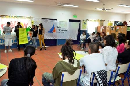Primer encuentro del año del Programa Envión en San Fernando