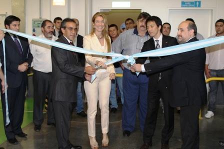 inauguración de la ampliación de la Planta de JTEKT en el Partido de Escobar