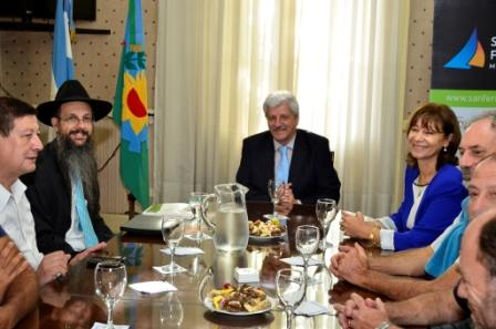 El Municipio se reunió con representantes de la comunidad judía de San Fernando