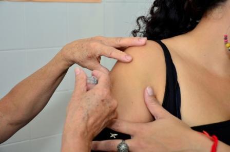 Campaña de vacunación en el Centro de Salud Crisol de San Fernando
