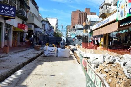 San Fernando Continúa con la remodelación de la calle Constitución