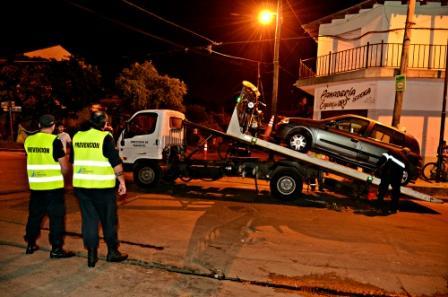 Se realizó un mega operativo de seguridad en San Fernando