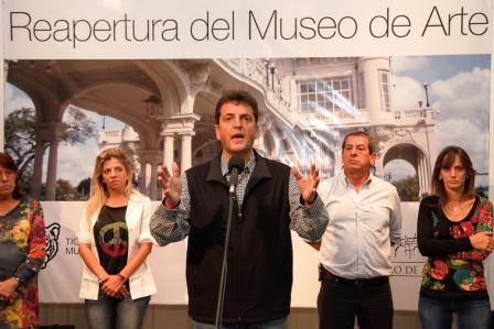El Museo de Arte Tigre reabrió con actividades de integración