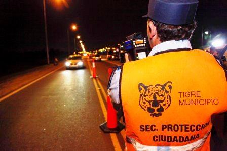 Ya se registraron en Tigre las primeras fotomultas por exceso de velocidad
