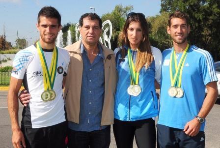 Argentina campeón sudamericano de remo en Río de Janeiro