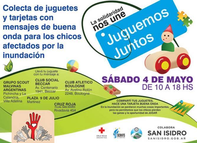 Lanzan una campaña de recolección de juguetes en San Isidro