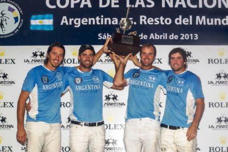 Argentina venció a Resto del Mundo y se adjudicó una nueva versión de la exitosa Copa de las Naciones