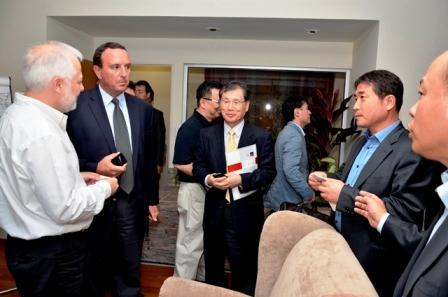 Delegación de empresarios de Corea de Sur planea desembarcar en Pilar