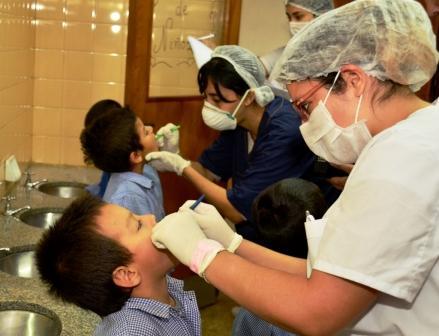 Se incorporaron jardines de infantes y guarderías a los controles semanales de Salud Escolar en San Fernando