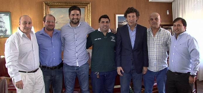 Posse, Castellano y Carusso con autoridades de la CGT Zona Norte
