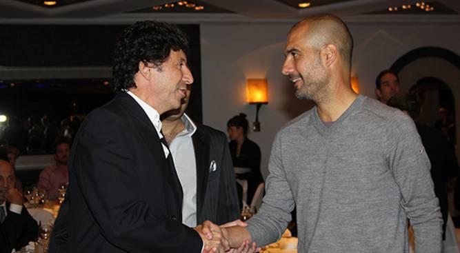 Posse felicitó a Guardiola por su exitosa carrera